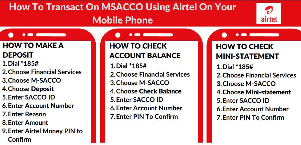 Airtel MSACCO